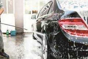 car washing image